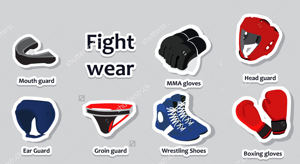 All fighting gears at one place
