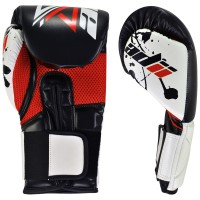 ADii Pro Style Skin-Tec™ Leather Quad-Core GEL Hand Made Training / Sparring / Boxing Gloves