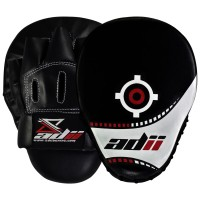 ADii Curved Hand Made High-Tec Focus Mitts / Focus Pads w/ Wrist Support ( Pair) | Boxing | MMA | MUAY THAI
