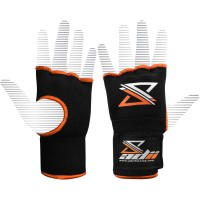 "ADii "" Gel-Tec "" Gel Padded Pro-wraps Hand Wraps Inner Gloves / Fist Protectors Bandages Mitts 