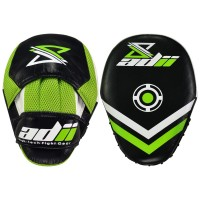 ADii 100% Genuine Cow Hide Leather MMA Boxing Focus Mitts / Focus Pads / Hook