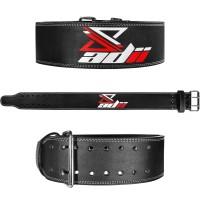 "ADii Genuine Leather Power lifting Belt 4"" Wide"