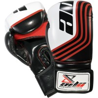 "ADii ""Assassin"" Skin-Tec™ Leather GEL Training / Boxing Gloves 
