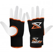"""ADii """" Gel-Tec """" Gel Padded Pro-wraps Hand Wraps Inner Gloves / Fist Protectors Bandages Mitts 