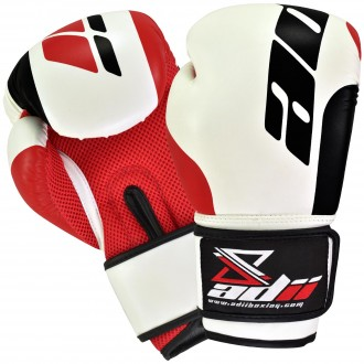 ADii ABG-SF PU/Flex Leatherette Training / Boxing Gloves w/Mesh Palm