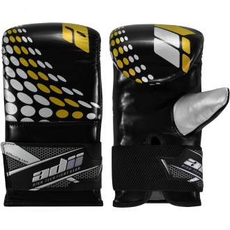 "ADii ""SPEED"" Skin-Tec™ Leather Boxing Bag Mitts / Bag Gloves"